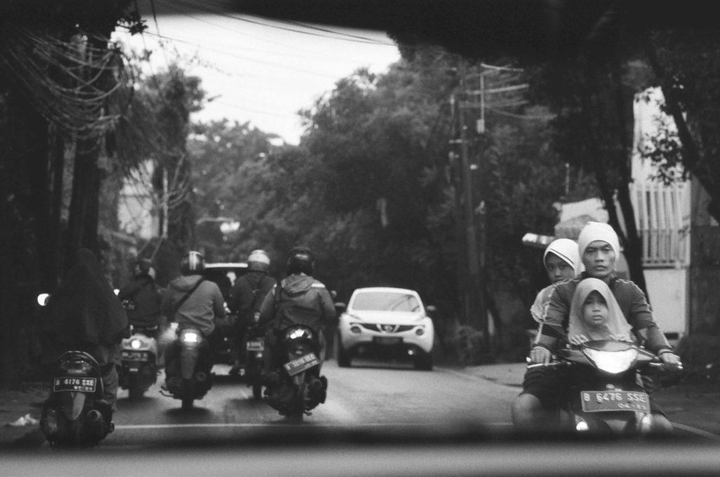 Standard streets of South Jakarta